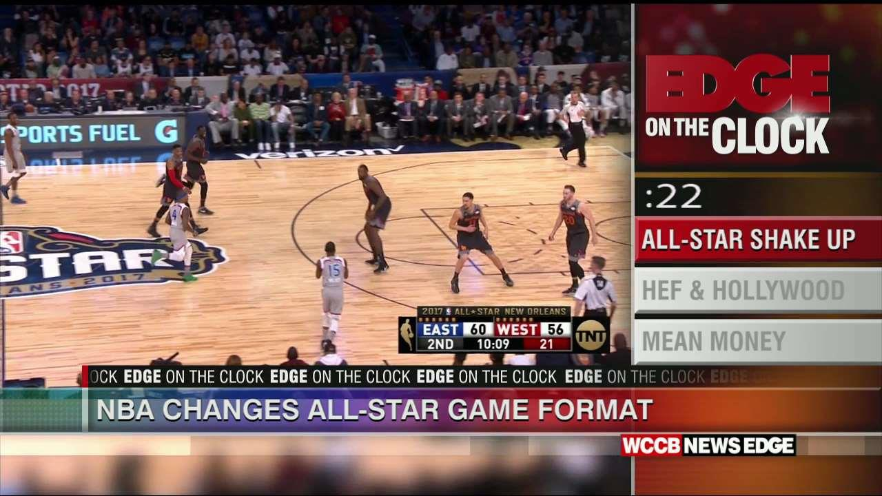 Edge On The Clock: NBA Changes All-Star Game Format - WCCB ...