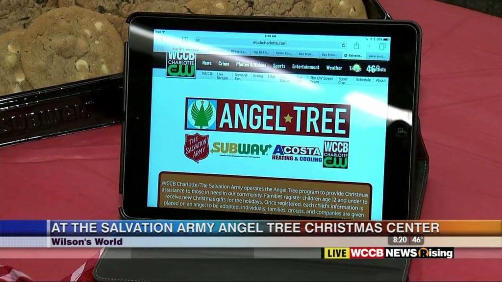 Salvation Army Angel Tree - WCCB Charlotte