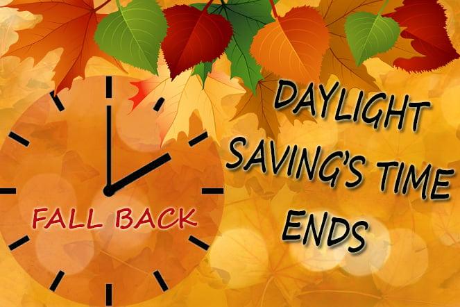 how to adjust sleep for fall back time change