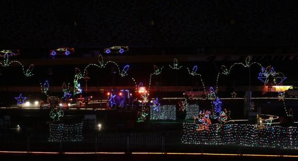 Speedway christmas comes to life this weekend at charlotte for Charlotte motor speedway ticket office