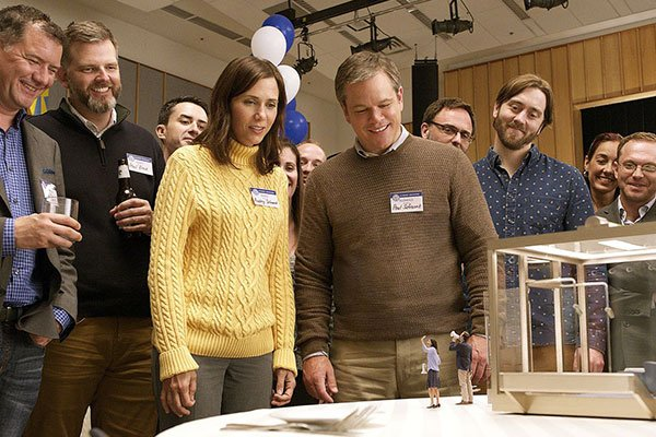 Text2Win pre-screening passes to see Downsizing starring Matt Damon, from WCCB, Charlotte's CW