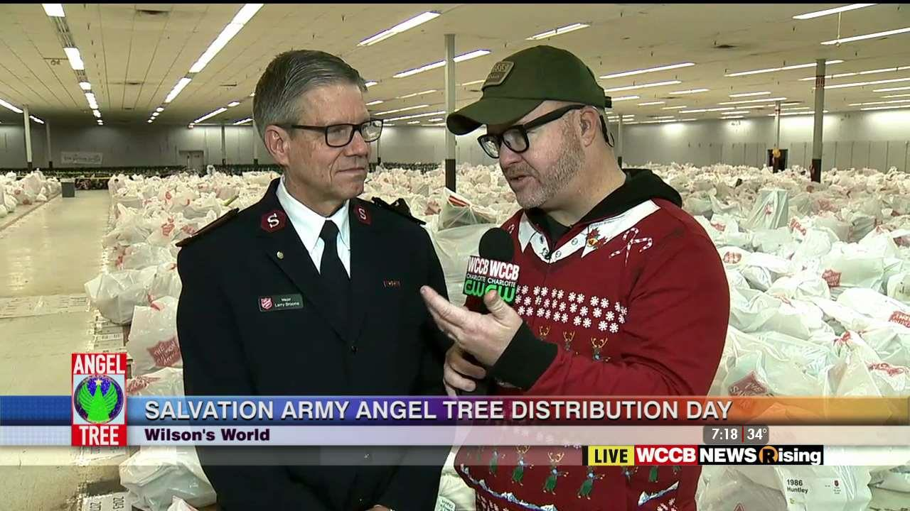 Christmas Tree Angels Salvation Army