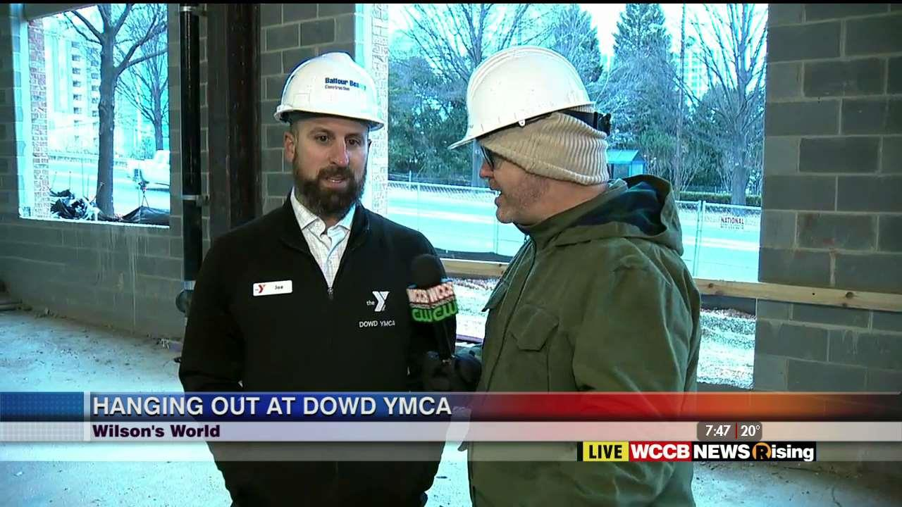 Wilson's World: Visiting the Dowd YMCA and Checking Out