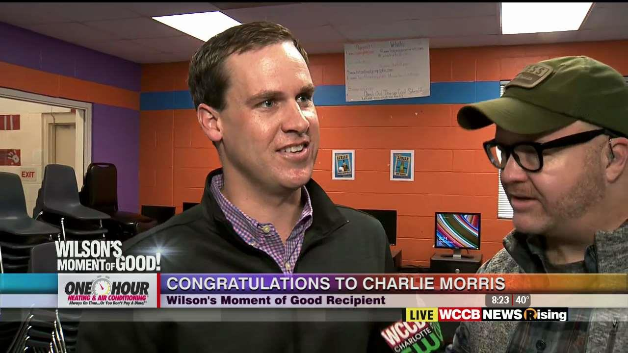 Wilson S Moment Of Good Charlie Morris Volunteer With The Salvation Army Boys Club Wccb Charlotte
