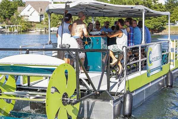 Win a ride on Lake Norman with Charlotte CycleBoats
