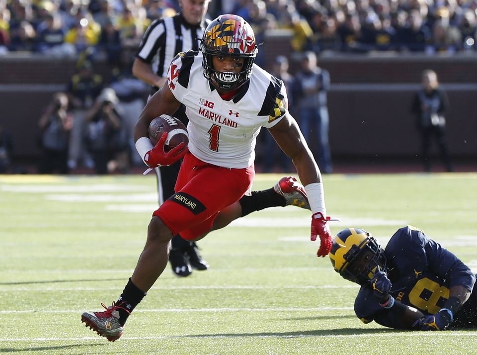 13e8fa78f Panthers Draft Maryland WR D.J. Moore In First Round - WCCB Charlotte