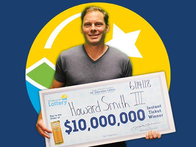Gaston County Man Wins $10 Million On $30 Scratch Off Ticket