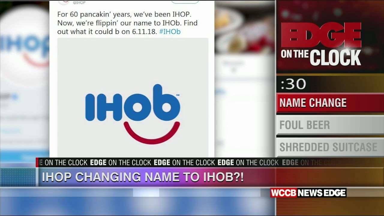 Edge On The Clock: Say goodbye to IHOP - WCCB Charlotte