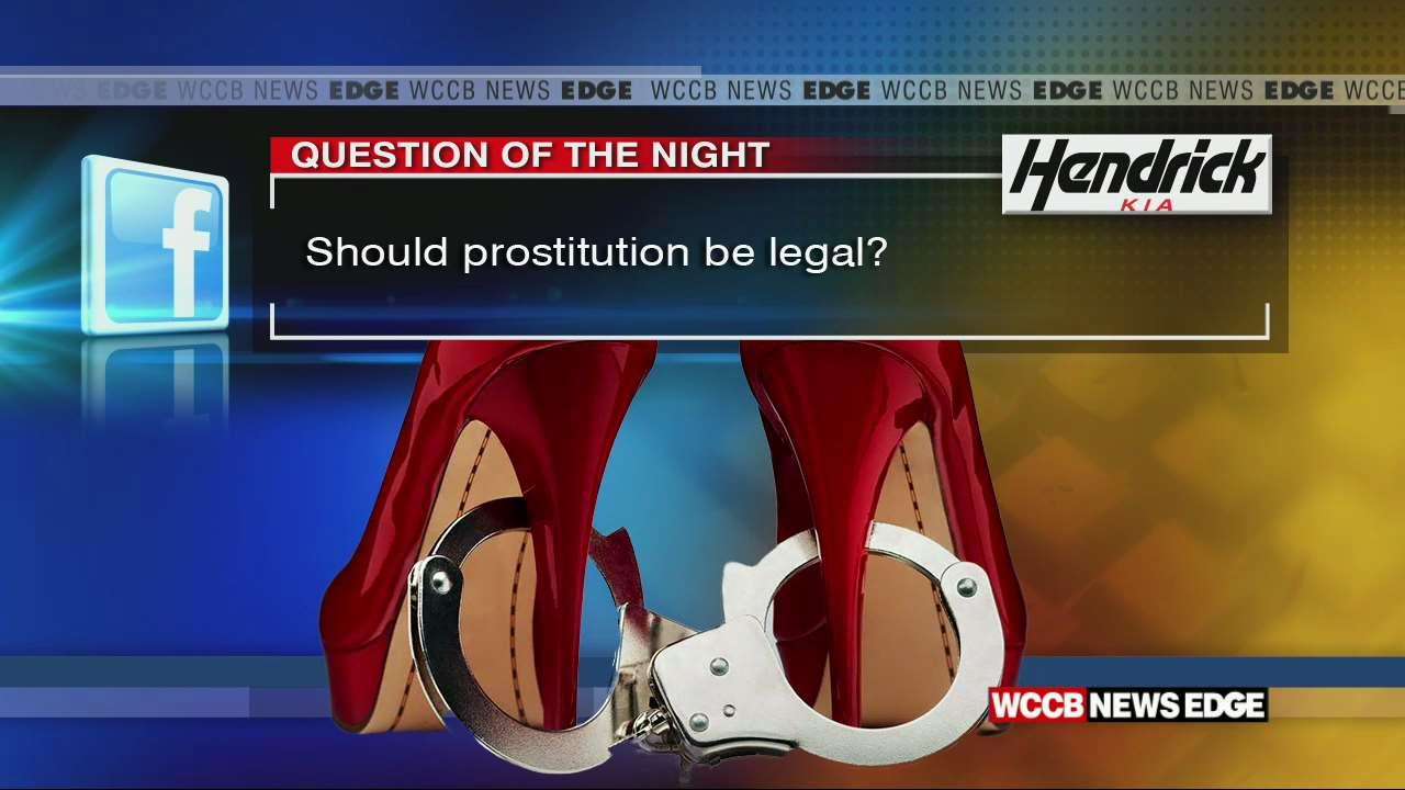 prostitution should it be legal Prostitution: should it be legalized or criminalized  the supporters of criminalization also connect legal prostitution with increased sex trafficking, the spread of stds, and a greater number .