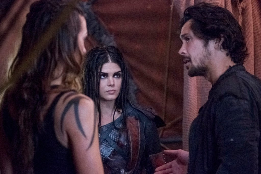 "The 100 -- ""Exit Wounds"""