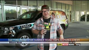 Wilsonu0027s World: Getting Summer Road Trip Ready At Parks Chevrolet