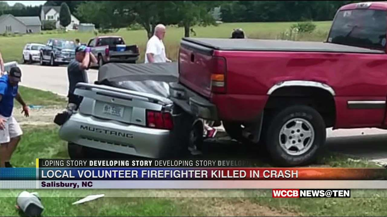 Rescue Tragedy: Local Firefighter Killed in Wreck - WCCB