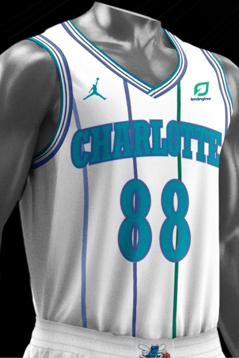 Hornets Unveil Classic Edition White Uniforms For 30th Anniversary Season -  WCCB Charlotte 1d8bd8312
