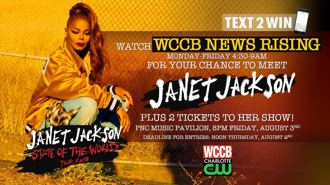 Watch Win A Meet Greet With Janet Jackson Concert Tickets