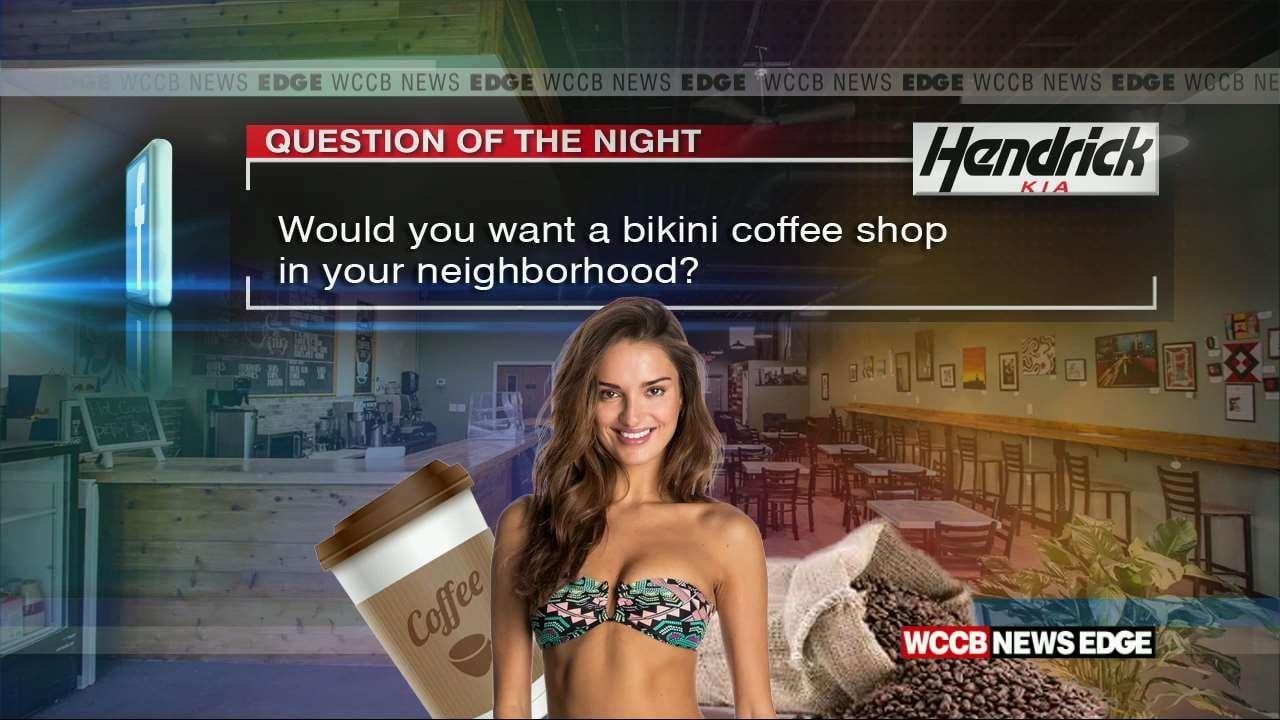 Bikini coffee shops