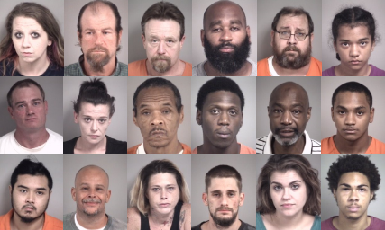 Cabarrus County Mugshots Week Of August 5th - WCCB Charlotte's CW