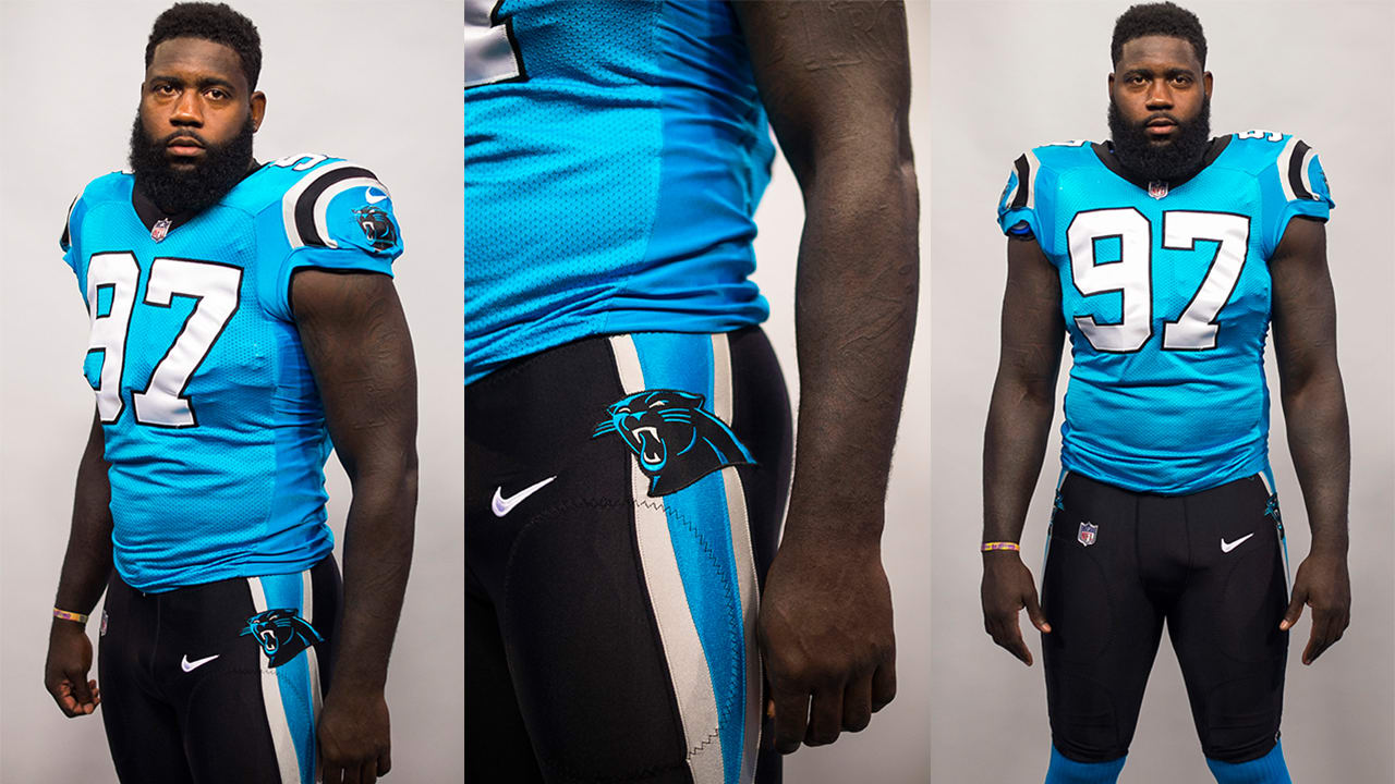 pretty nice d05dd 33aa7 Panthers To Debut Black Pants With Blue Jerseys Against ...