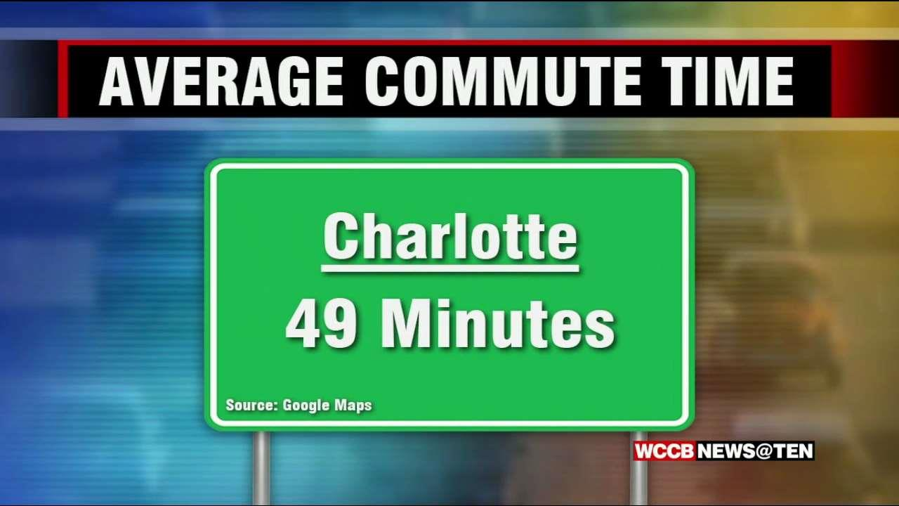 Google Maps Finds Average Charlotte Commute is 49 Minutes - WCCB ...