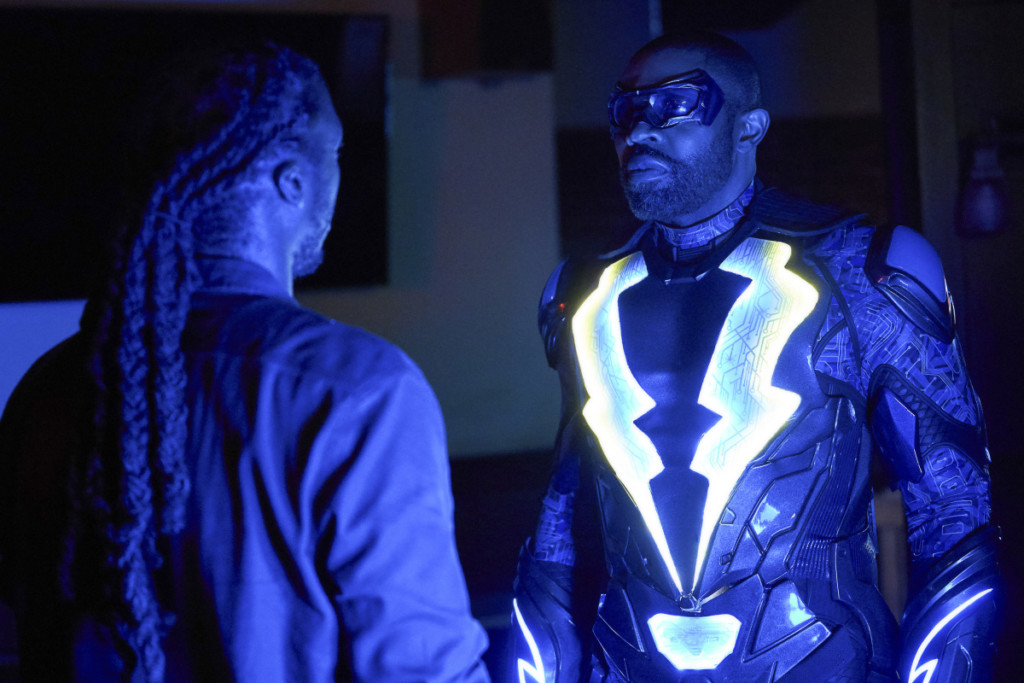 "Black Lightning -- ""The Book of Blood: Chapter One"""