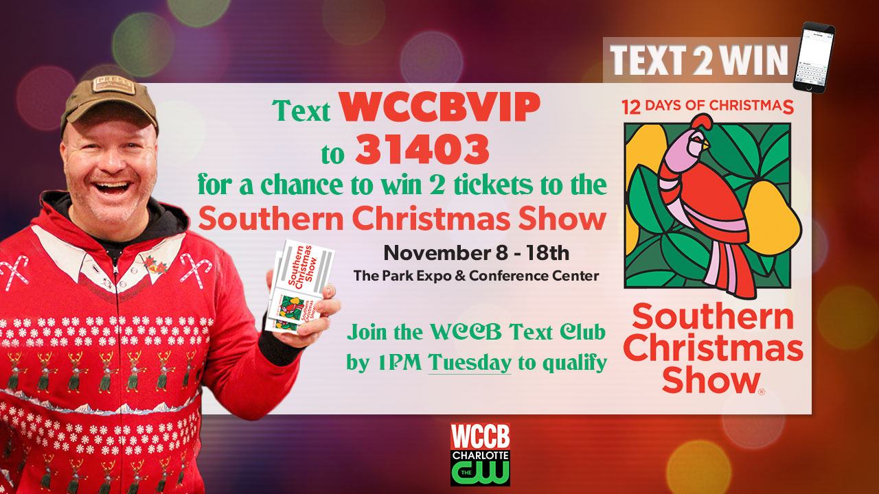 southern christmas show text contest official rules - Southern Womens Christmas Show