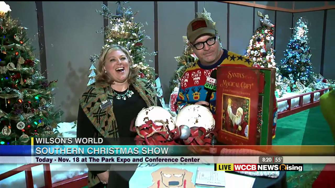 wilsons world checking out the 2018 southern christmas show wccb charlotte