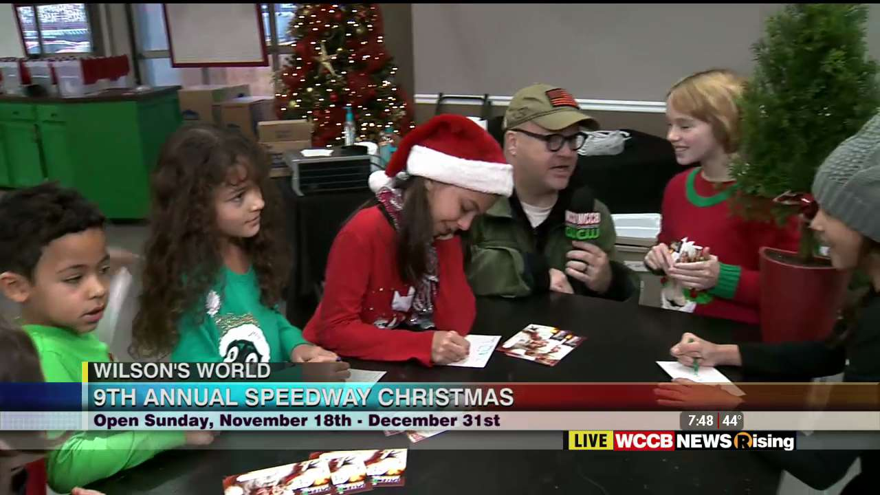 Wilson\'s World: The 9th Annual Speedway Christmas Kicks Off This ...