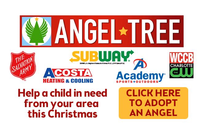 Subway Salvation Army Angel Tree 2019