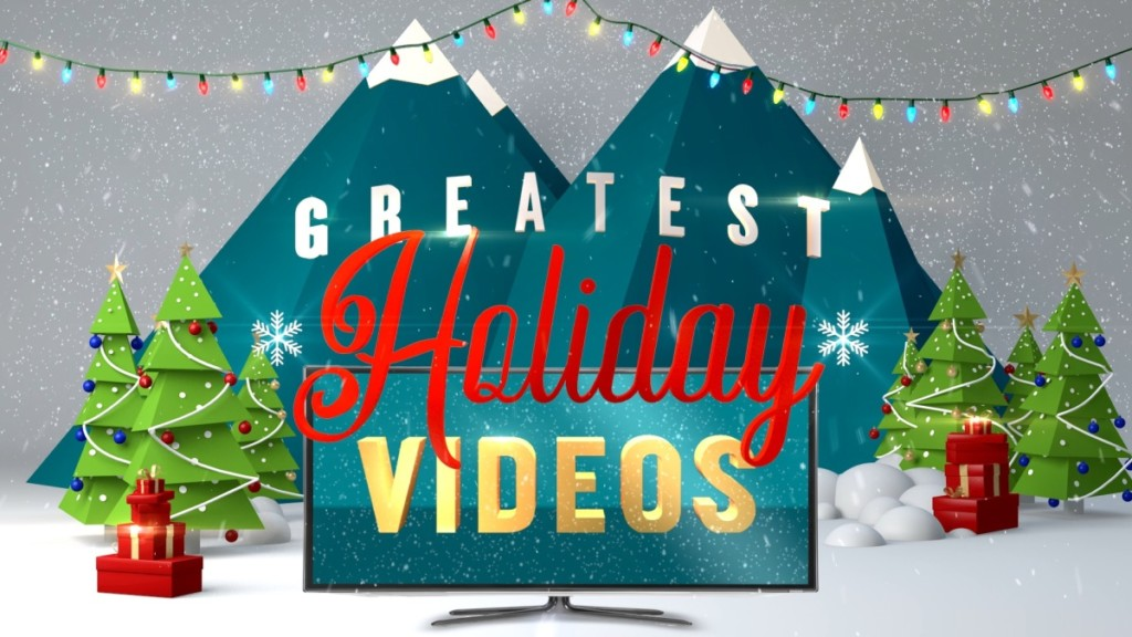 Greatest Holiday Video Countdown