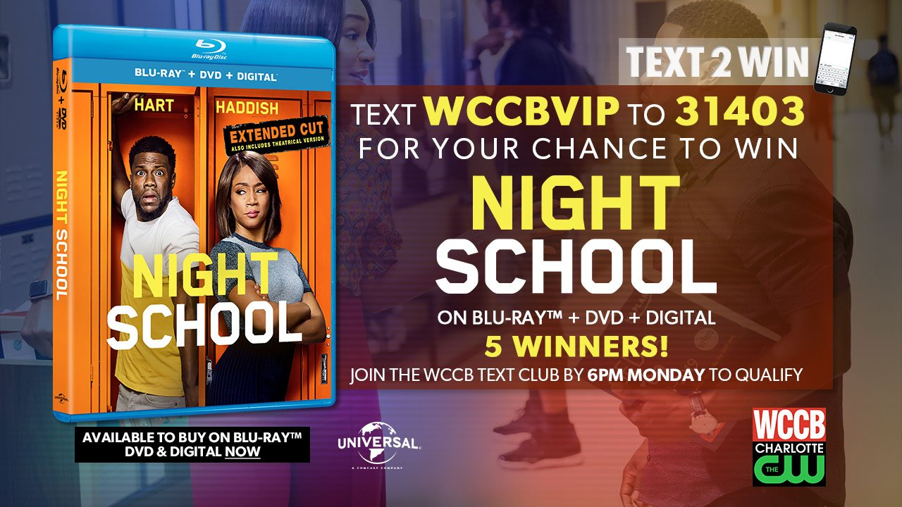 Win a copy of Night School on Blu-ray from WCCB Charlotte's CW