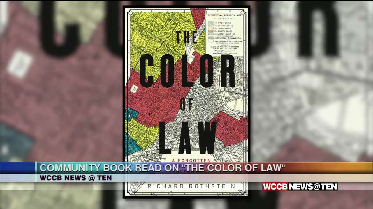 Upcoming Community Book Read The Color Of Law Wccb Charlotte