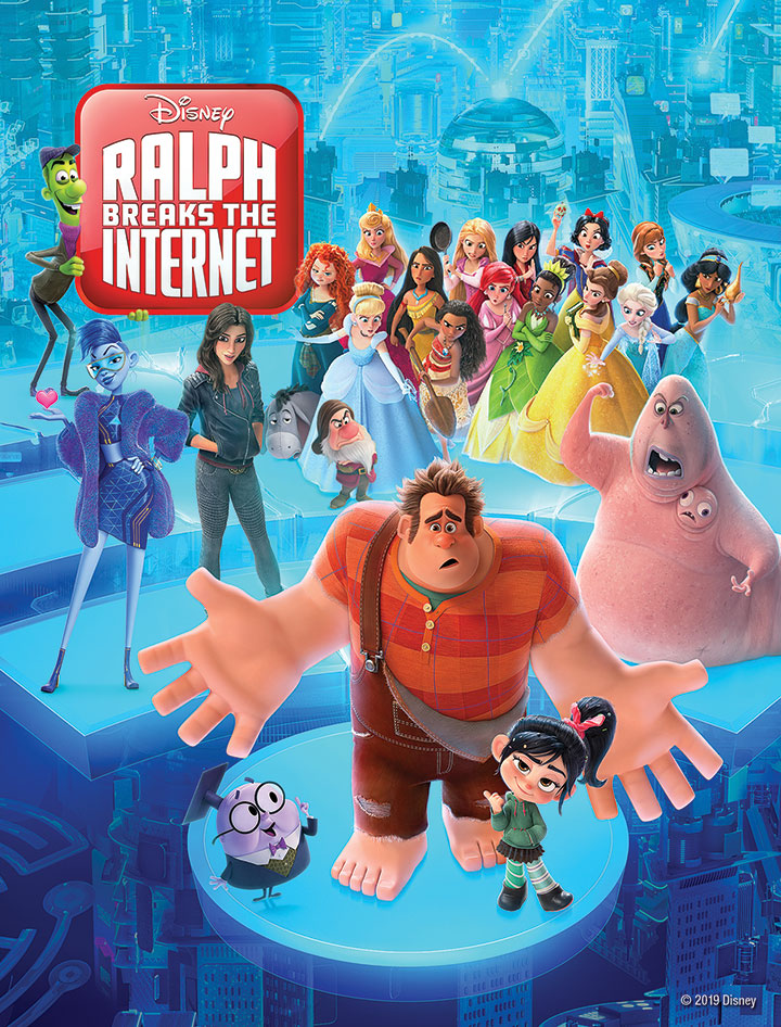 Win a digital copy of Disney's Ralph Breaks The Internet from WCCB Charlotte's CW