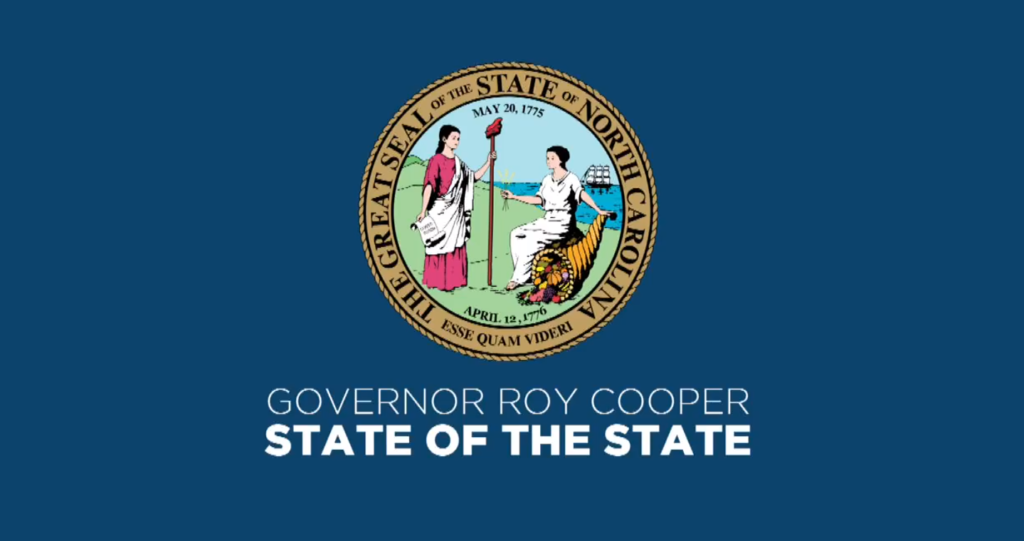 Governor Roy Cooper State Of The State