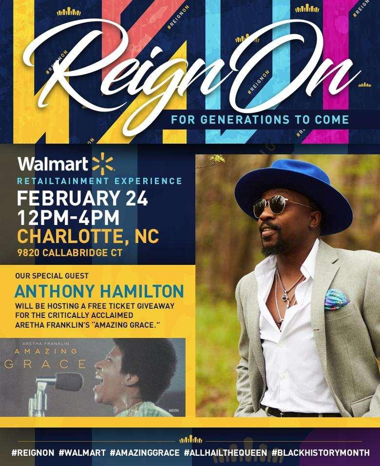 f07407ffb1ed Anthony Hamilton To Hold Free Ticket Give Away At Local Walmart ...