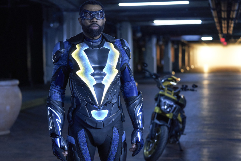 """Black Lightning -- """"The Book of the Apocalypse: Chapter One: The Alpha"""""""