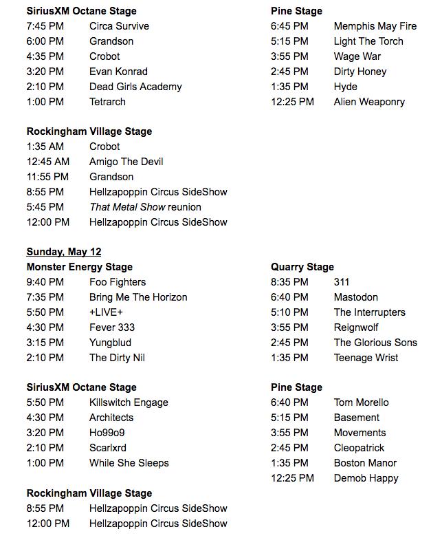 Epicenter Festival Announces Set Times - WCCB Charlotte's CW