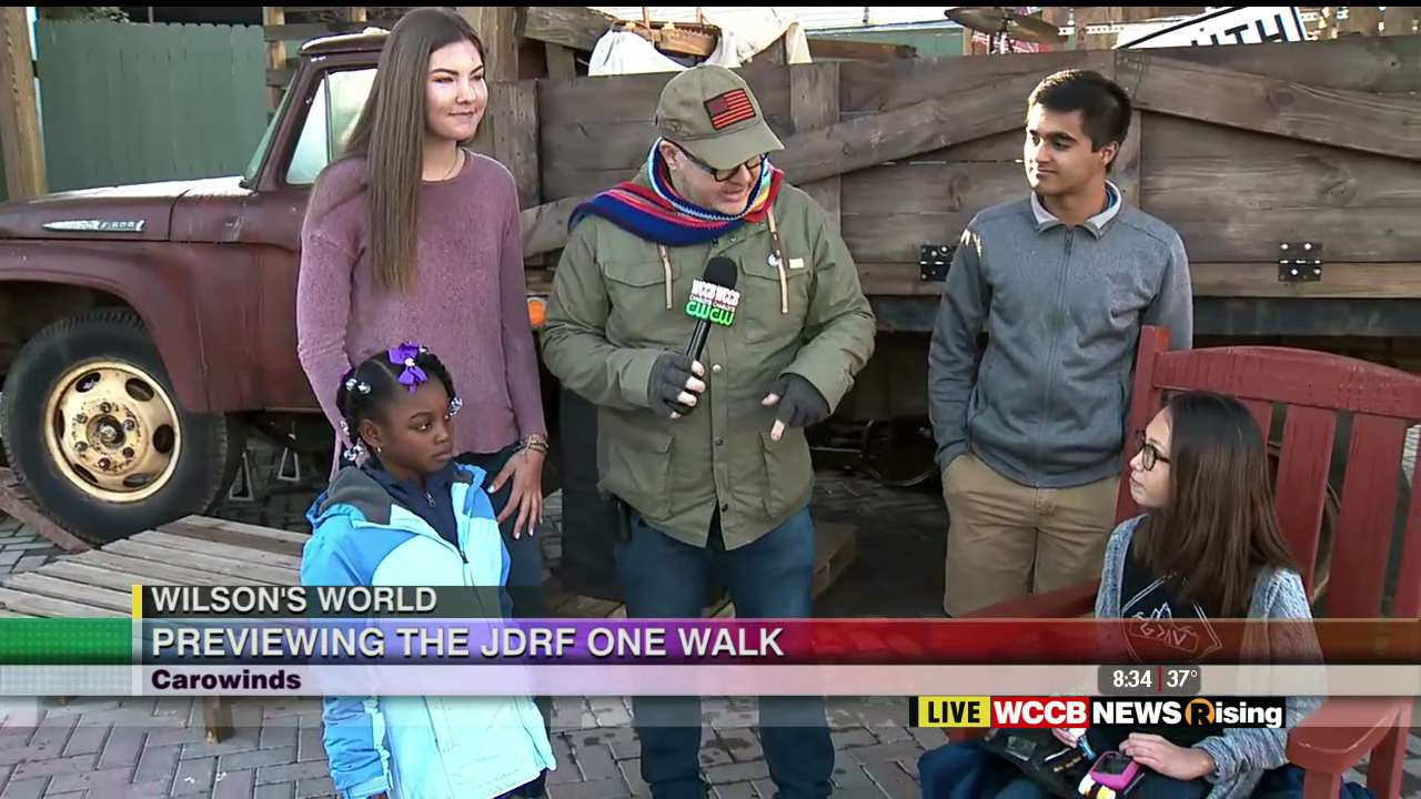 Wilson's World: Previewing the 2019 JDRF One Walk at Carowinds