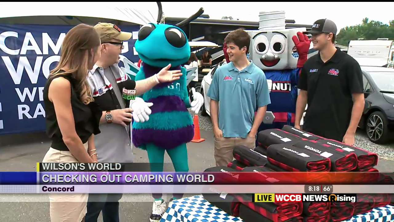 Camping World Concord >> Wilson S World Enjoying Breakfast With Drivers And Fans At Camping