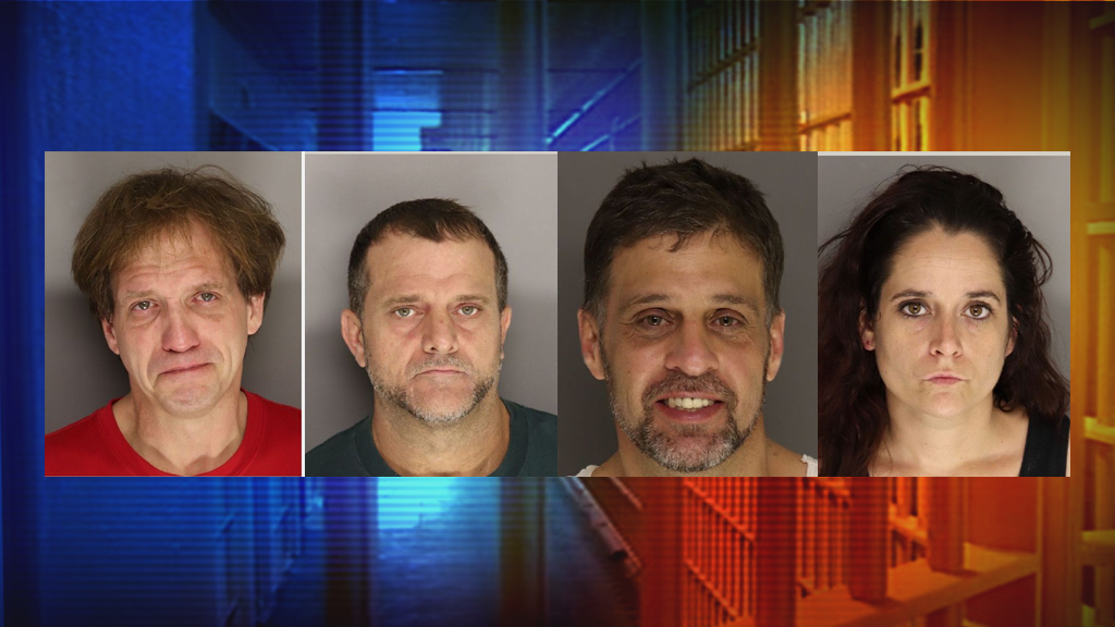Four Suspects Arrested On Drug, Burglary Charges In Lancaster County
