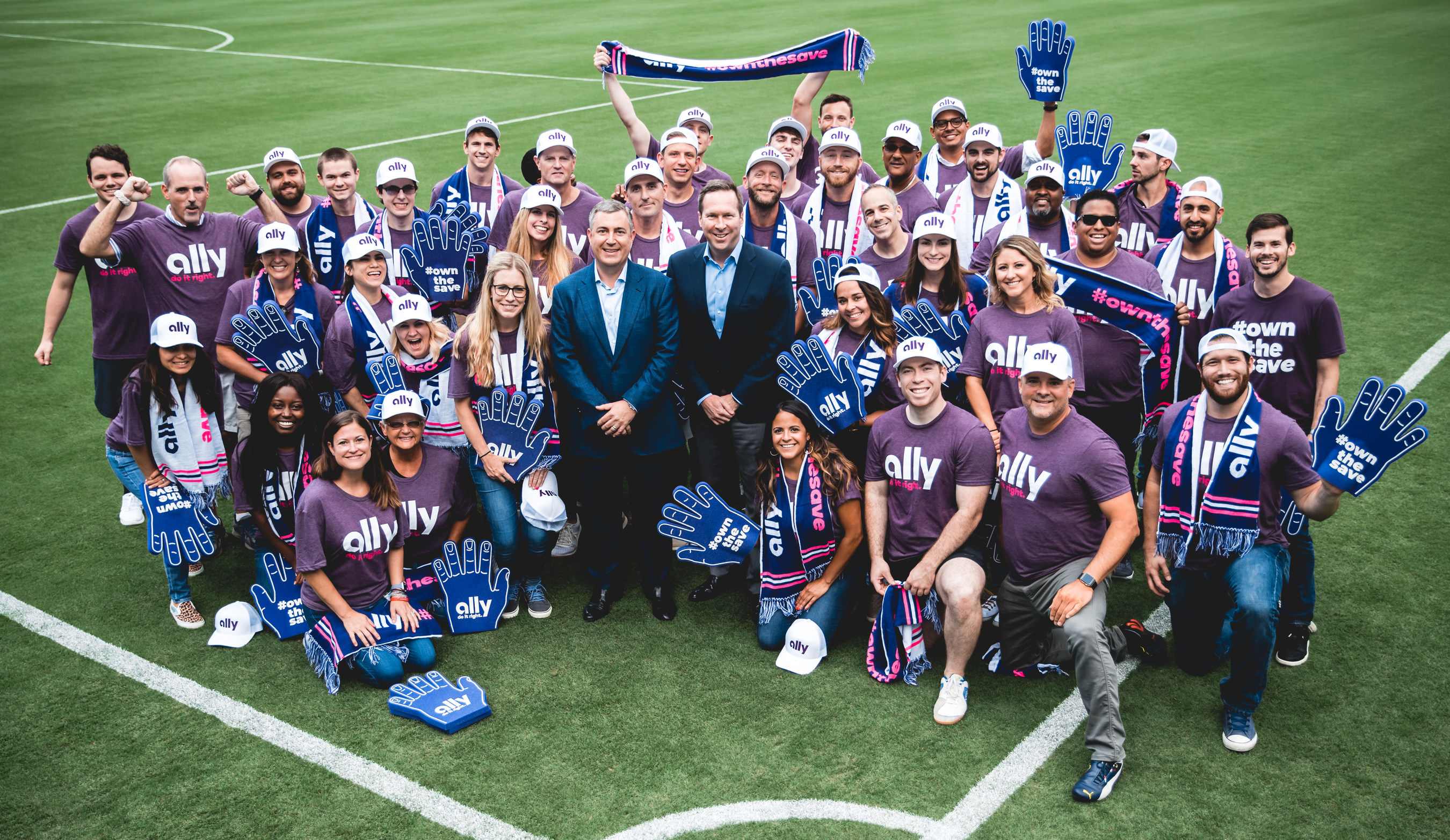 Ally Financial Inc. announce Partnership with David Teppers Charlotte MLS Bid