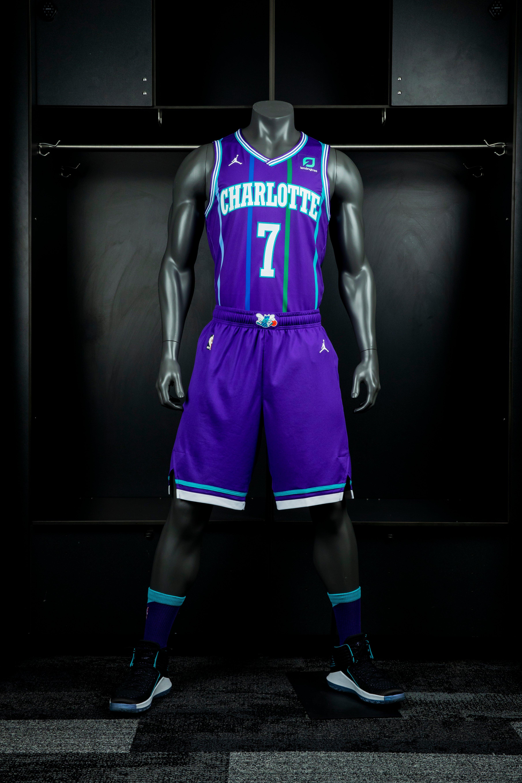 new concept 18fa3 2c663 Hornets Unveil New Purple Classic Uniform For 2019-20 Season ...