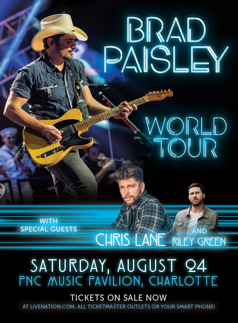 Win a Chris Lane VIP Meet & Greet Experience from WCCB Charlotte's CW