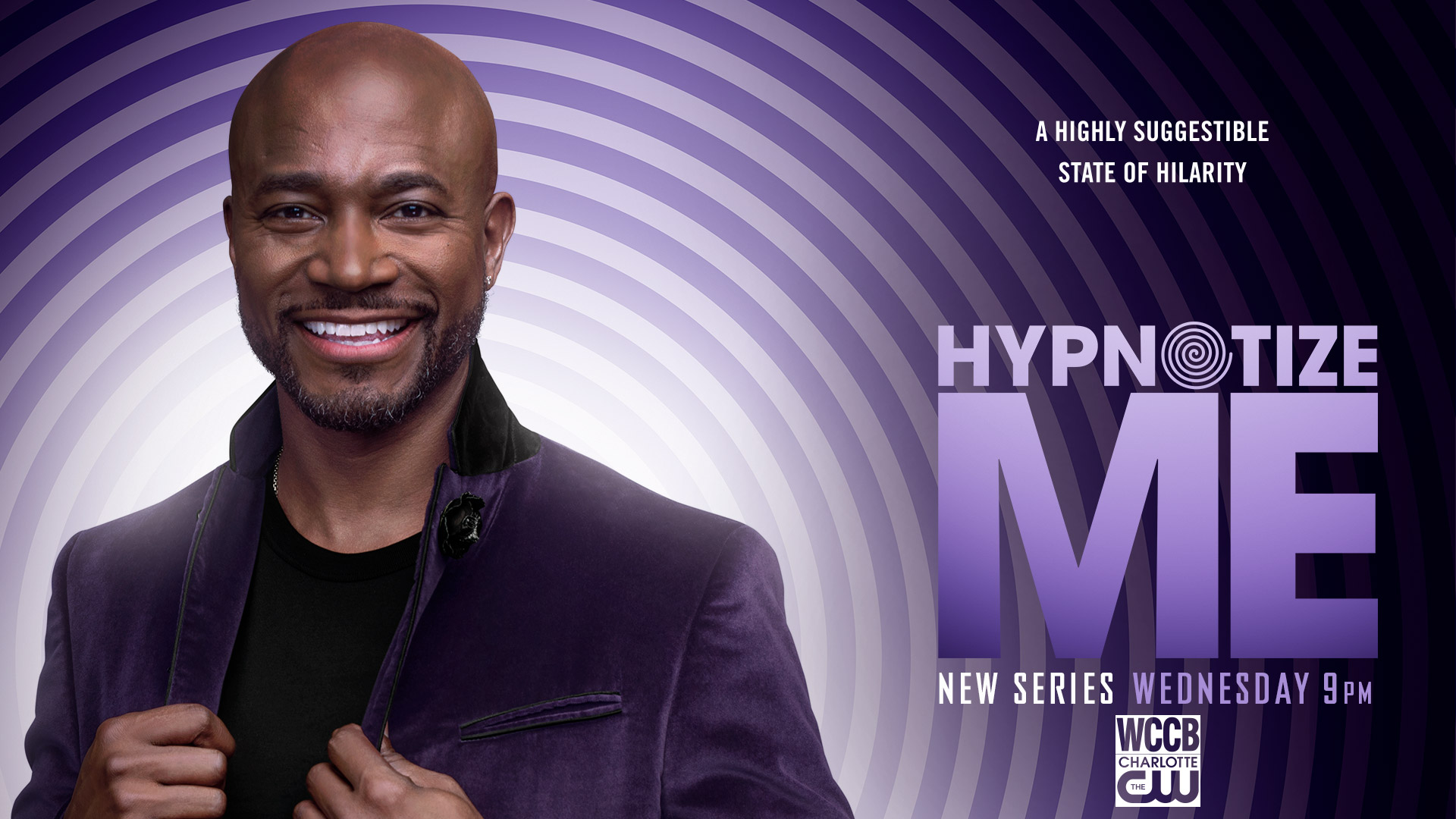 Hypnotize Me New Series Wednesday at 9 PM on WCCB Charlotte's CW