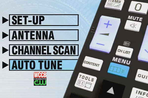 Attention Over-The-Air WCCB Charlotte Viewers, You Need To Rescan Your TV On Sept. 6th