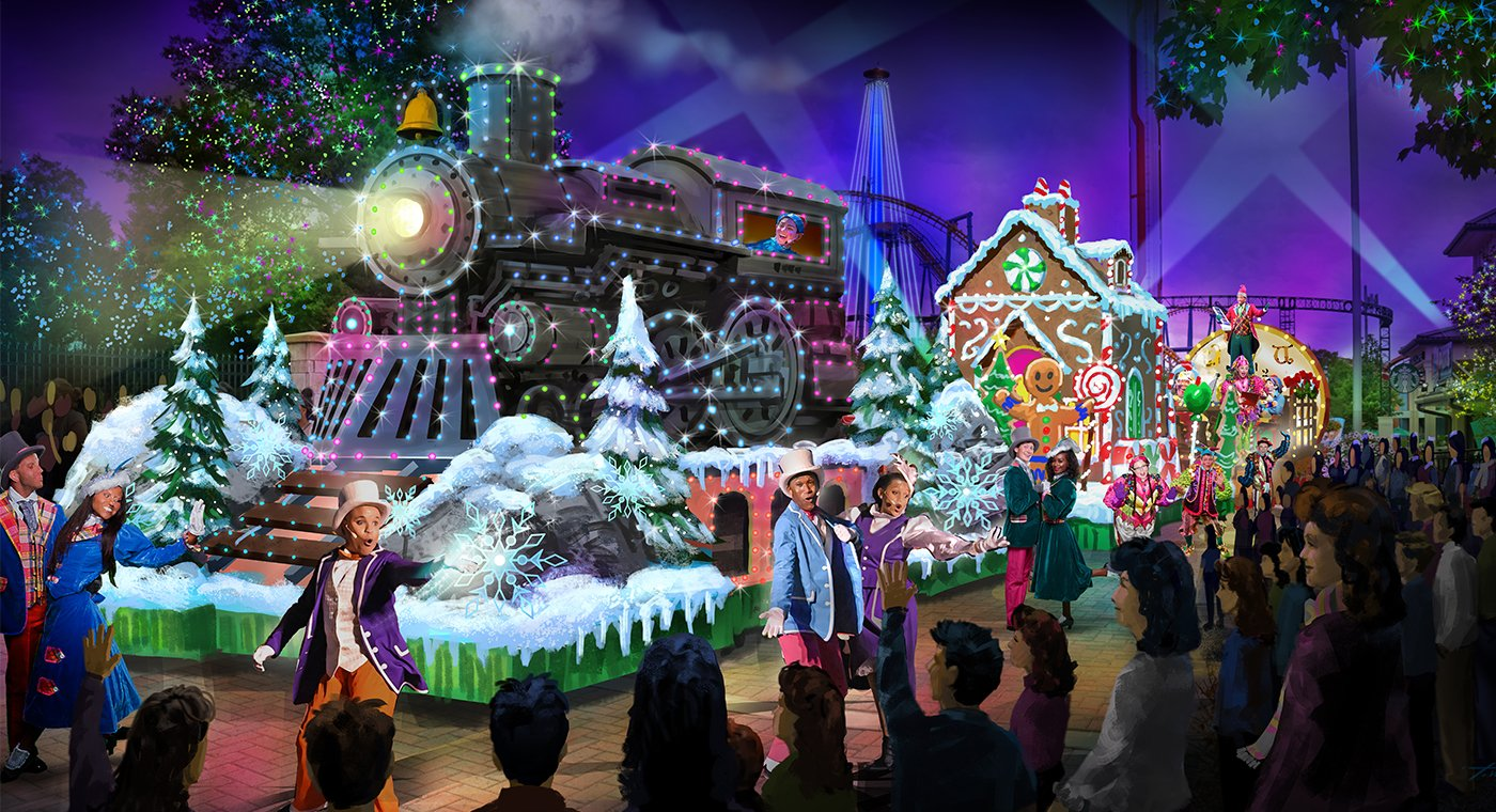 Carowinds Announces News WinterFest Wonderland Parade For