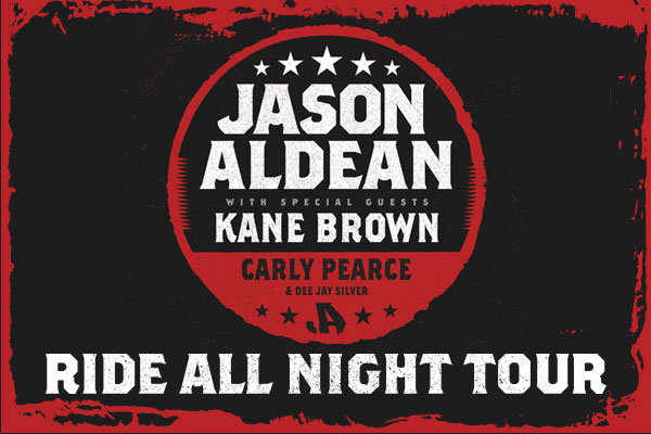 Win A Jason Aldean Ride All Night VIP Experience from WCCB Charlotte's CW