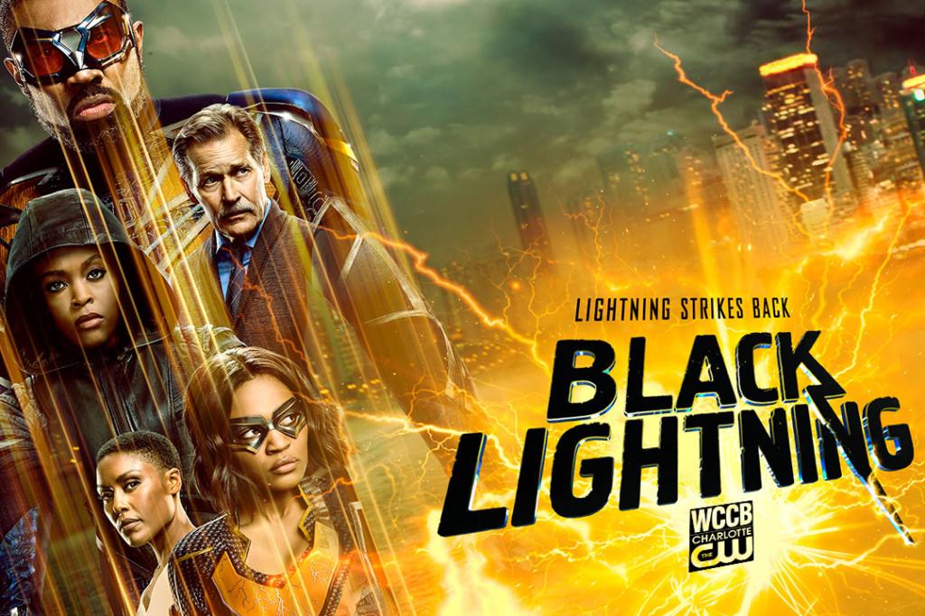 Black Lightning on WCCB Charlotte's CW