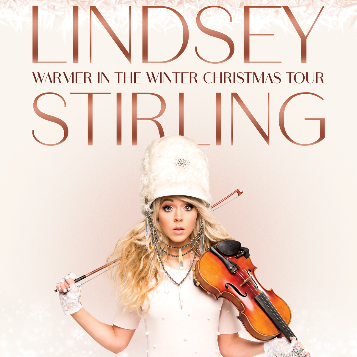 """Lindsey Stirling """"Warmer In The Winter Christmas Tour"""""""
