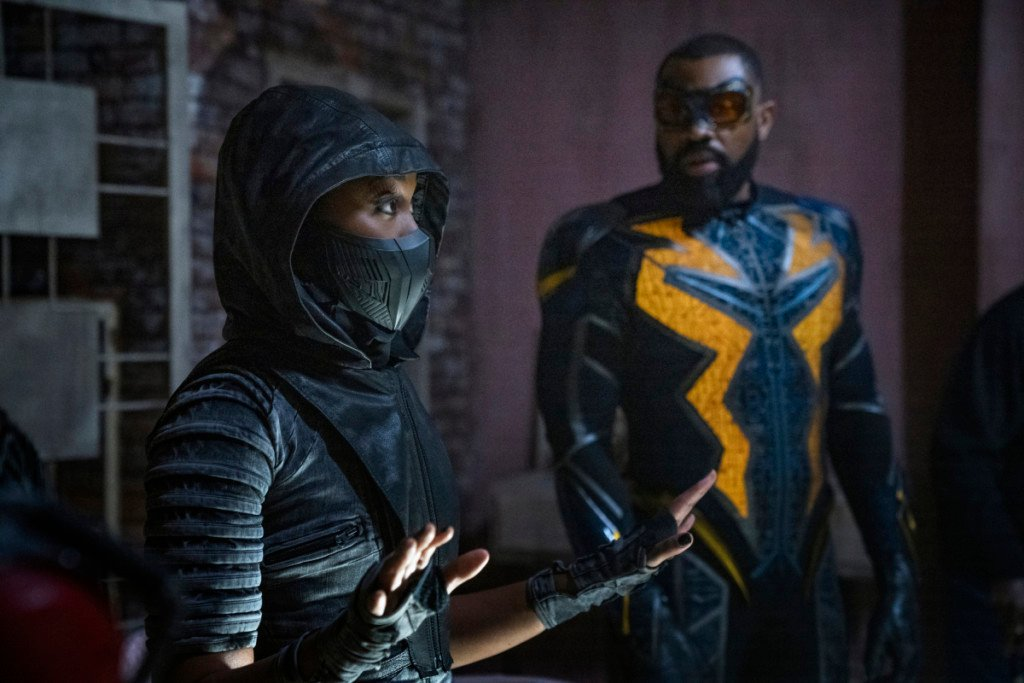 """Black Lightning -- """"The Book of Resistance: Chapter Four: Earth Crisis"""""""