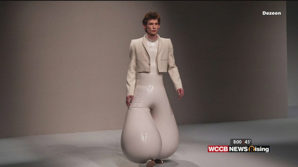 Couch Chat: Designer Inflatable Pants Hit The Runway!