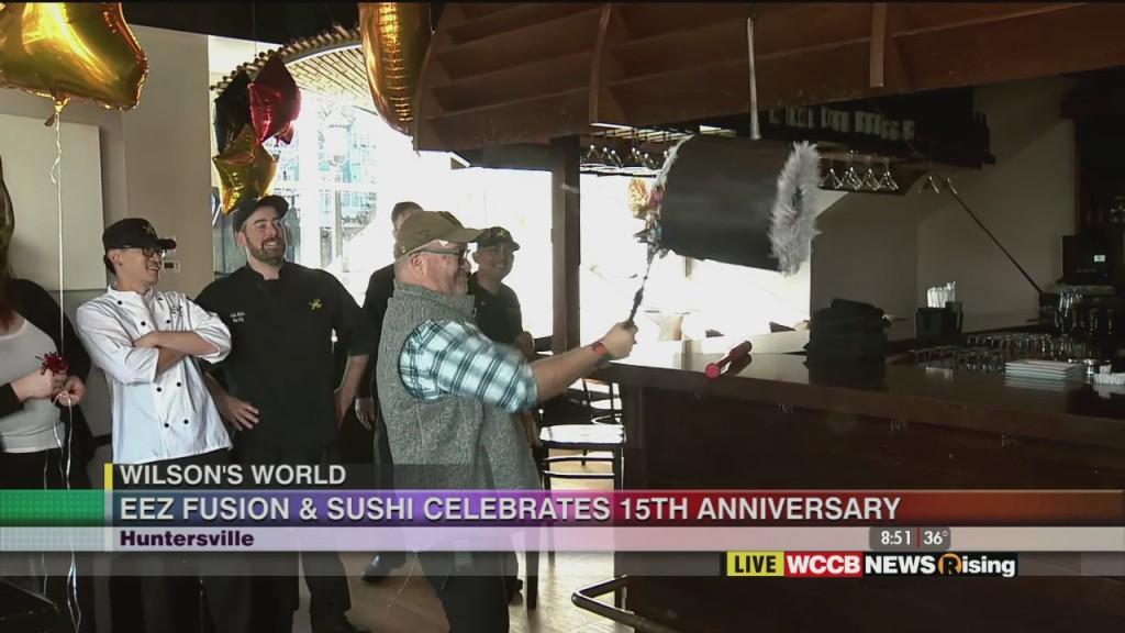 Wilson's World: Celebrating The 15th Anniversary Of Eez Fushion & Sushi 2 27 20
